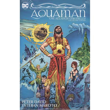 Aquaman The Atlantis Chronicles Deluxe Editon