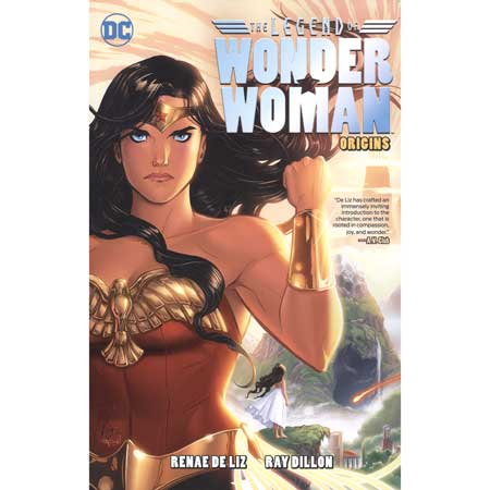 Legend Of Wonder Woman Origins