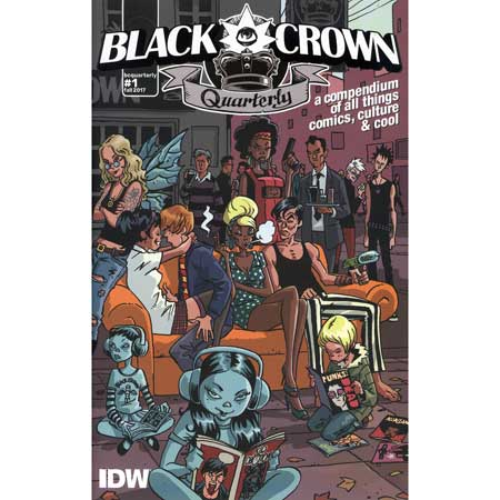 Black Crown Quarterly #1 Fall 2017