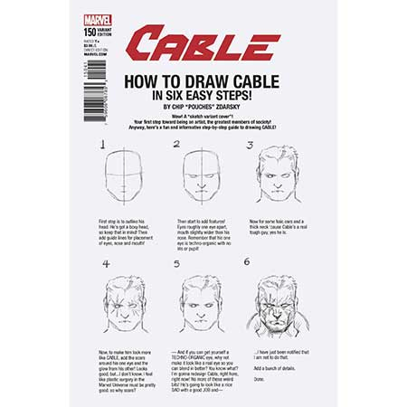 Cable #150 How To Draw Variant