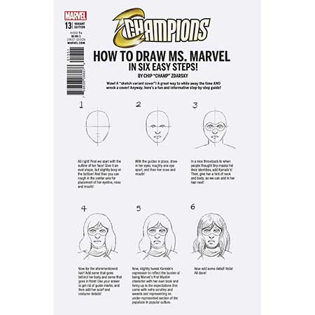 Champions #13 How To Draw Variant