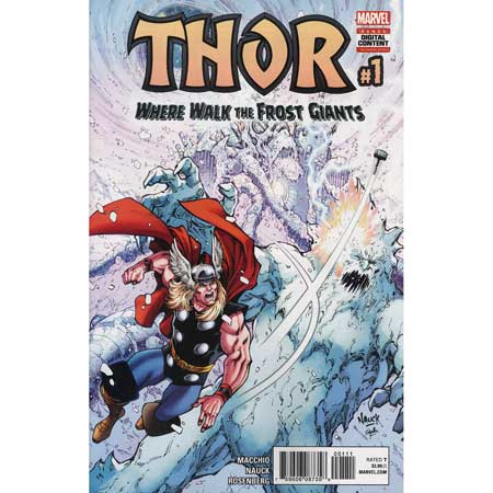 Thor Where Walk The Frost Giants #1