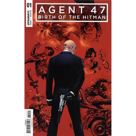Agent 47 Birth Of Hitman #1 Cover B Lau