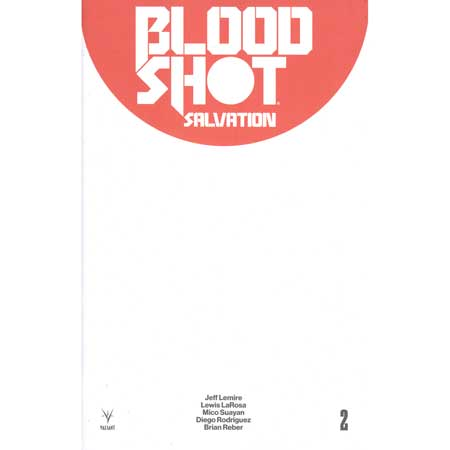 Bloodshot Salvation #2 Cover D Blank