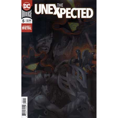 Unexpected #5 (Foil cover)