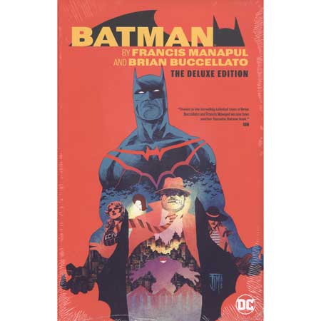 Batman By Manapul And Buccellato Deluxe Edition