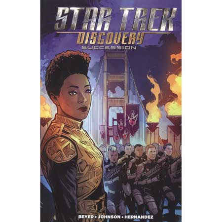 Star Trek Discovery Succession