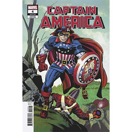 Captain America #4 Kirby Remastered Variant