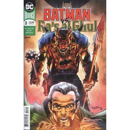 Batman Vs Ras Al Ghul #3