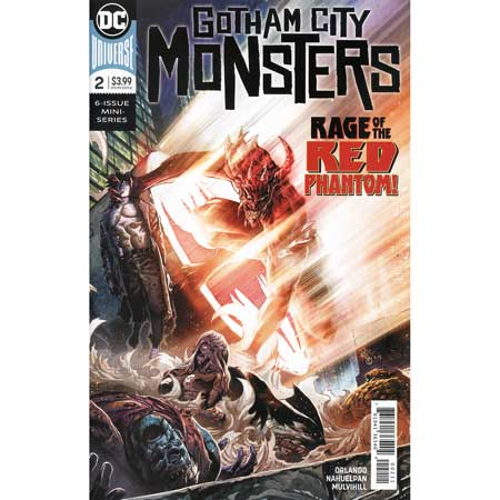 Gotham City Monsters #2