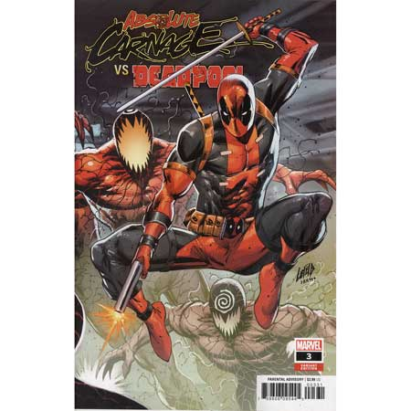 Absolute Carnage Vs Deadpool #3 Connecting Variant