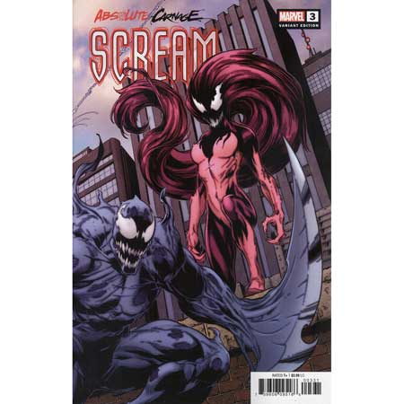 Absolute Carnage Scream #3 Bagley Connecting Variant