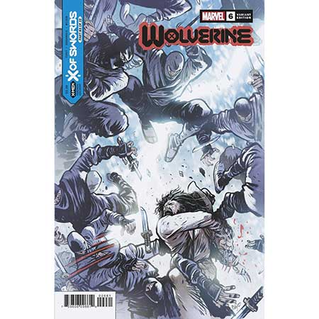 Wolverine #6 Johnson Variant (Limit 1 per customer)