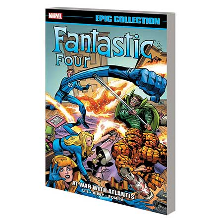 Fantastic Four Epic Collection At War With Atlantis