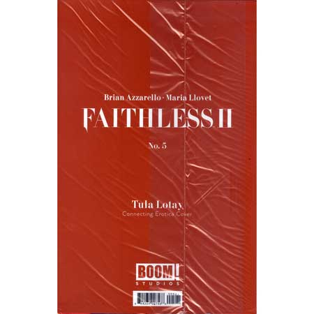 Faithless II #5 Cover B Erotica Connecting Variant