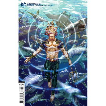 Aquaman #64 Cover B Gilbert Vigonte Variant