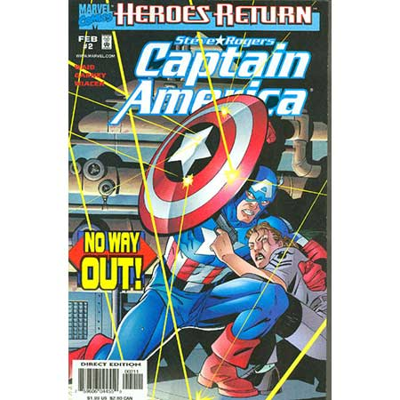 Captain America Vol.3 #02