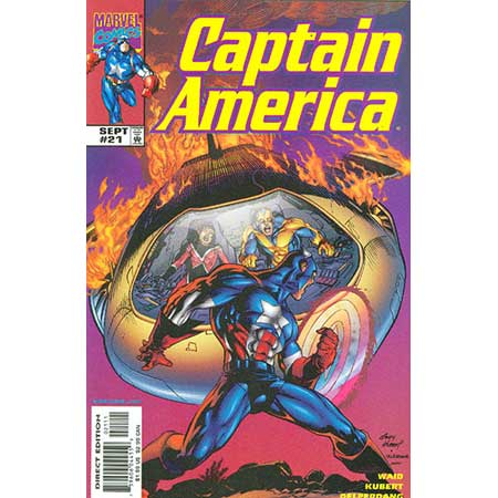 Captain America Vol.3 #21