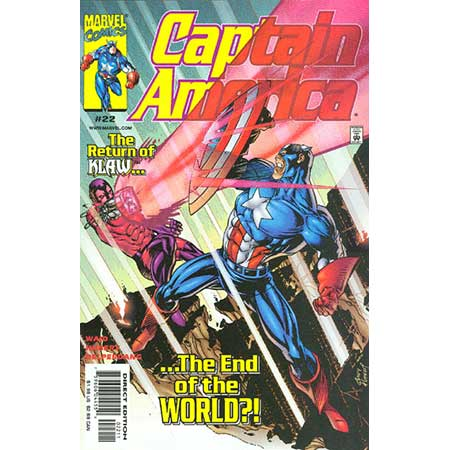 Captain America Vol.3 #22