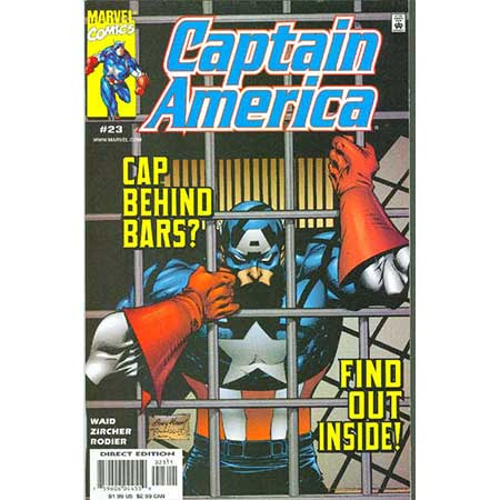 Captain America Vol.3 #23