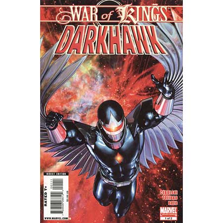 War Of Kings Darkhawk #1