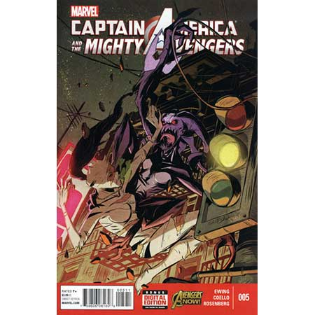 Captain America And Mighty Avengers #5
