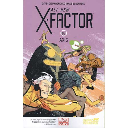 All New X-Factor Vol 3 Axis
