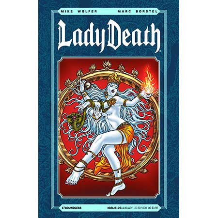 Lady Death #26 Auxiliary Cover