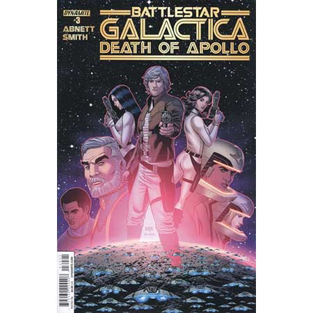 Battlestar Galactica Death Of Apollo #3 Cover B Smith Variant