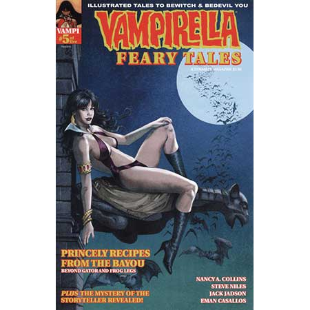 Vampirella Feary Tales #5 Cover C Subscription Variant