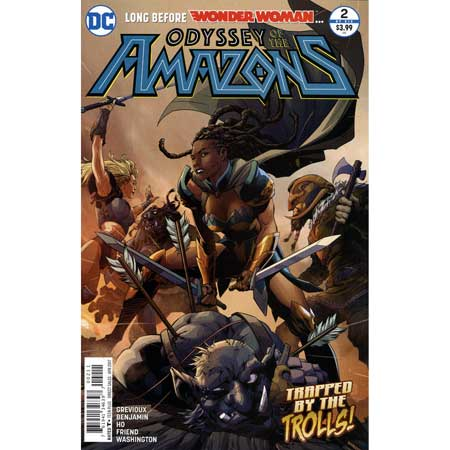 Odyssey Of The Amazons #2