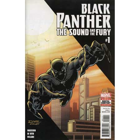 Black Panther Sound And Fury #1