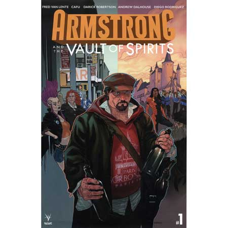 Armstrong & The Vault Of Spirits #1