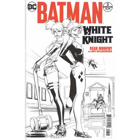 Batman White Knight #3 3rd Ptg