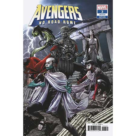 Avengers No Road Home #3 Suayan Connecting Variant