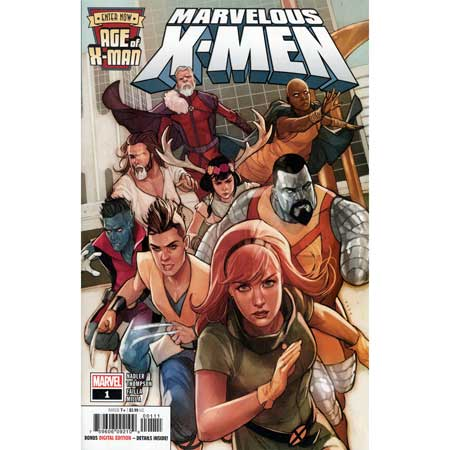 Age Of X-Man Marvelous X-Men #1
