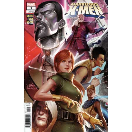 Age Of X-Man Marvelous X-Men #1 Inhyuk Lee Connecting