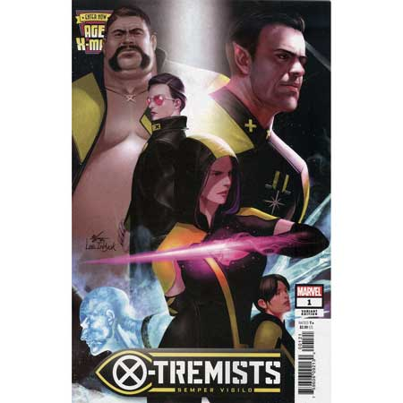 Age Of X-Man X-Tremists #1 Inhyuk Lee Connecting Variant