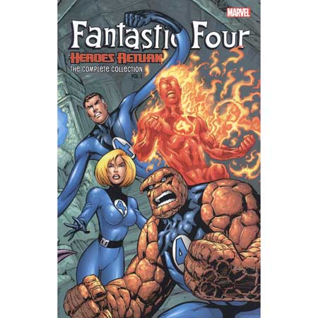Fantastic Four Complete Collection Vol 1 Heroes Return
