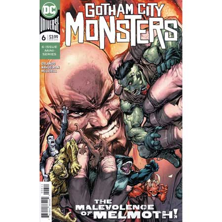 Gotham City Monsters #6