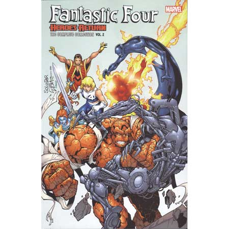 Fantastic Four Complete Collection Vol 2 Heroes Return