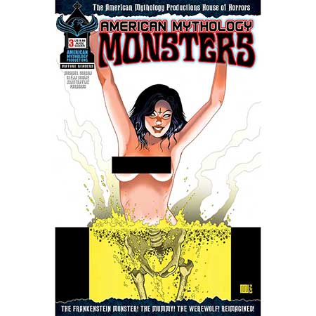 American Mythology Monsters #3 Cover B Racy Limited Edition
