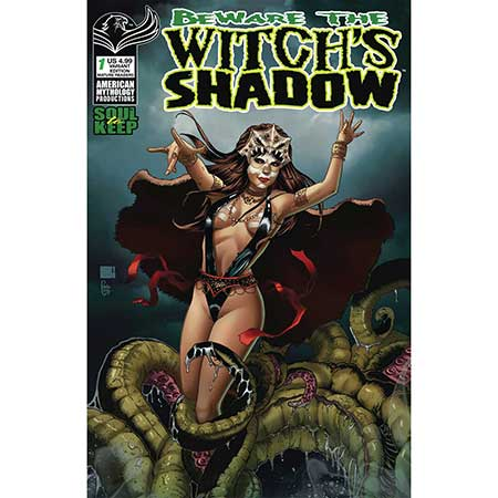 Beware Witch`S Shadow Winter Special Cover B Wolfer