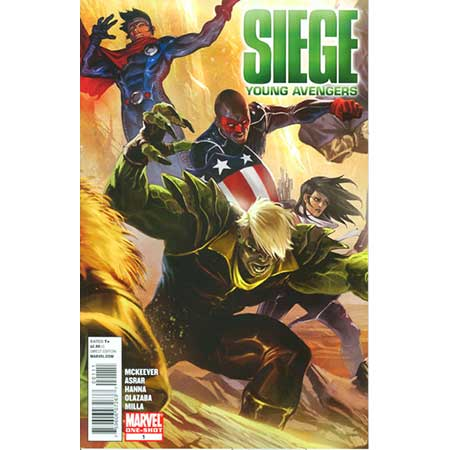 Siege Young Avengers #1