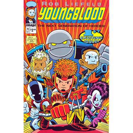 Youngblood #71 Cover C Giarrusso