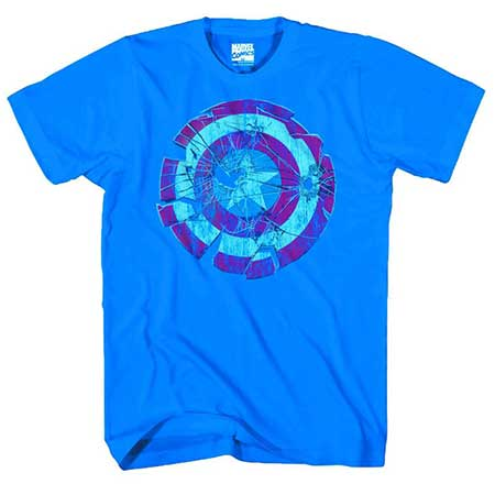 Captain America Glass Shield T-Shirt