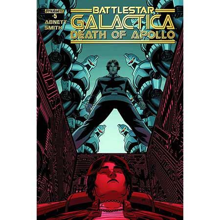 Battlestar Galactica Death Of Apollo #5 Cover B Smith Variant