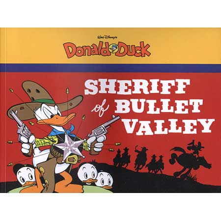 Walt Disney Donald Duck Vol 2 Sheriff Bullet Valley