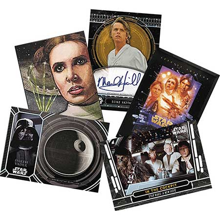 Topps 2017 Star Wars 40Th Anniversary Trading Cards Pack