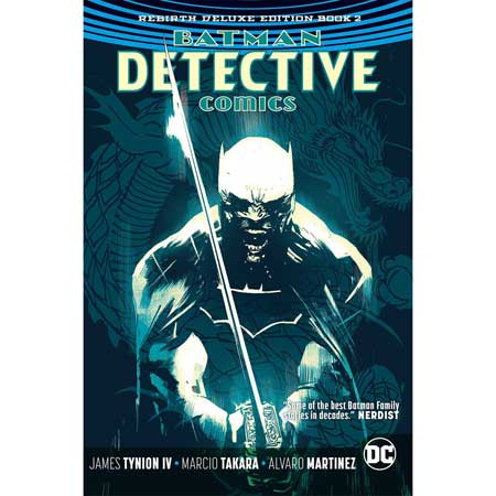 Batman Detective Rebirth Deluxe Collection Book 2